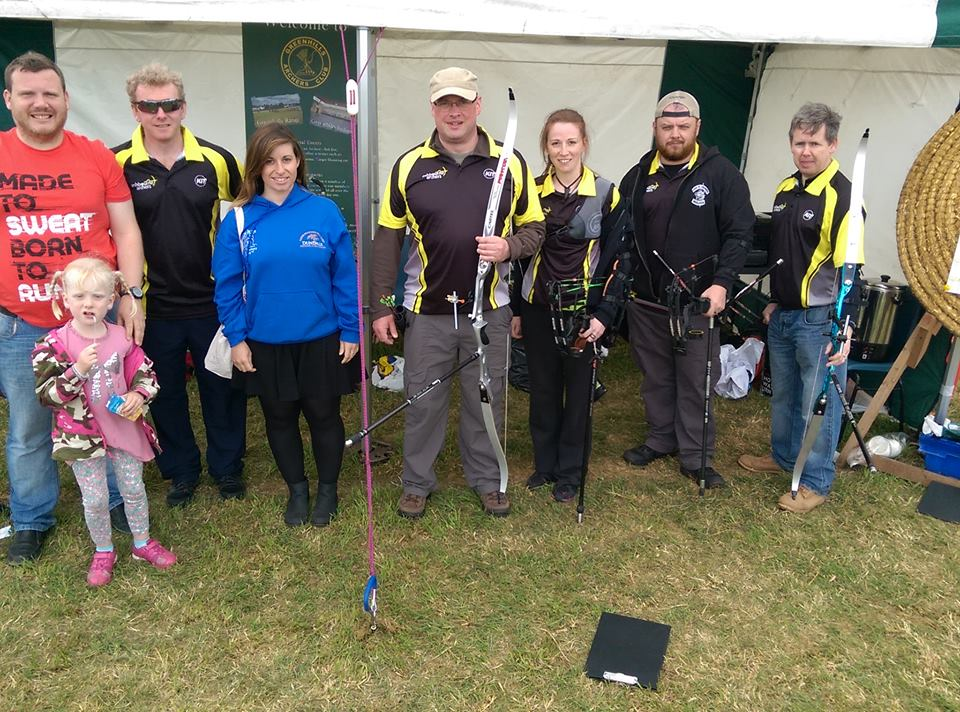 Ashbourne Archers represented at Greenshills Archers' Annual Philip Brennan memorial Shoot, 2015